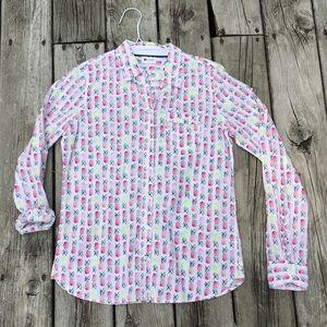 Pineapple dress shirt